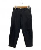 ALL SAINTS(オールセインツ)の古着「MIRO TROUSER」|ブラック