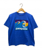 Patagonia(パタゴニア)の古着「90'sヴィンテージTシャツ」 ブルー