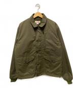 FILSON(フィルソン)の古着「ライナー付きオイルドジャケット」|カーキ