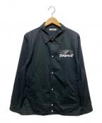 flagstuff(フラグスタフ)の古着「コーチジャケット」|ブラック