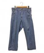 CAL O LINE(キャルオーライン)の古着「バレルペインターパンツ」