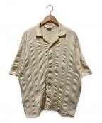TOWN CRAFT(タウンクラフト)の古着「オープンカラーシャツ」 アイボリー
