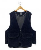 BEAMS(ビームス)の古着「シューティングベスト」 ブラック