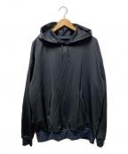 DESCENTE PAUSE(デサントポーズ)の古着「ウィンドプルーフパーカー」 ブラック