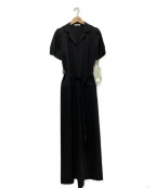 emmi atelier(エミアトリエ)の古着「オールインワン」|ブラック