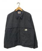 GANGSTERVILLE(ギャングスタービル)の古着「ウールネップジャケット」|グレー
