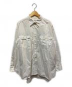 JOURNAL STANDARD relume(ジャーナルスタンダード レリューム)の古着「製品染めバックロングシャツ」 ホワイト