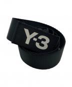 Y-3()の古着「ナイロンDリングベルト」 ブラック