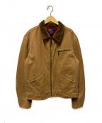 POLO RALPH LAUREN()の古着「ヴィンテージ加工ダックジャケット」|ベージュ