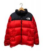 ()の古着「ヌプシジャケット」|レッド