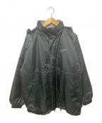 NIKE()の古着「90's中綿ウインドブレーカー」|ブラック