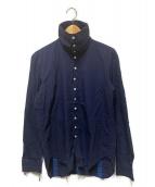 ()の古着「タートルネックシャツ」|ネイビー