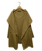 ()の古着「ドルマンスリーブショールコート」|ブラウン