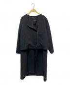 INDIVI(インディビ)の古着「21SS 4WAYライトコート」 ブラック