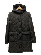 MACKINTOSH()の古着「裏ボアキルティングコート」|ブラック