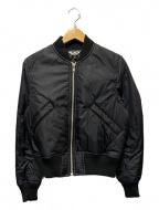 BLACK COMME des GARCONS(ブラックコムデギャルソン)の古着「MA-1 BOMBER JACKET」 ブラック