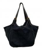 FILSON(フィルソン)の古着「キャンバスレザートートバッグ」|ブラック