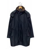 ()の古着「ライナー付ボアカラーコート」 ブラック