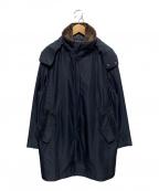 Paul Stuart()の古着「ライナー付ボアカラーコート」 ブラック