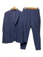HYDROGEN(ハイドロゲン)の古着「ナイロン2Bセットアップスーツ」|ネイビー