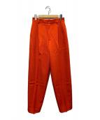 ()の古着「20AW KARSEY PANTS」 オレンジ