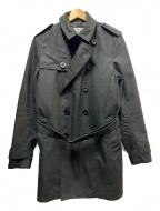 COACH(コーチ)の古着「トレンチコート」|ブラック