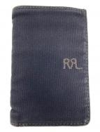 ()の古着「ロゴキャンバスカードケース」|ブラック
