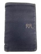 RRL(ダブルアールエル)の古着「ロゴキャンバスカードケース」|ブラック