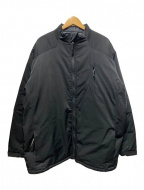 BURLAP OUTFITTER(バーラップアウトフィッター)の古着「スタンドカラープリマロフトジャケット」|ブラック