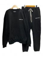 ()の古着「CREW-NECK SWEAT SET-UP」|ブラック