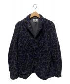 ()の古着「Lined Bedford Jacket-Wool Camo」 ネイビー