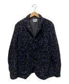 Engineered Garments(エンジニアドガーメンツ)の古着「Lined Bedford Jacket-Wool Camo」 ネイビー