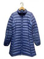 Patagonia()の古着「フィオナパーカダウンコート」 ブルー