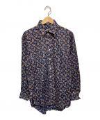 Burberry's()の古着「USAペイズリーシャツ」|ネイビー