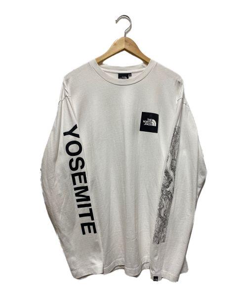 THE NORTH FACE(ザ ノース フェイス)THE NORTH FACE (ザ ノース フェイス) YOSEMITE TEE ホワイト サイズ:XLの古着・服飾アイテム