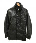 G-STAR RAW(ジースターロゥ)の古着「GARBER DENIM TRENCH/コーティングコート」|ブラック