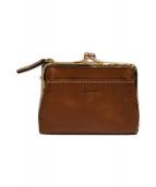 ()の古着「がま口財布」|ブラウン