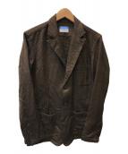 ()の古着「テーラードジャケット」 ブラウン
