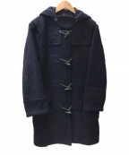 BURBERRY BLUE LABEL()の古着「ノヴァチェックロングダッフルコート」|ネイビー