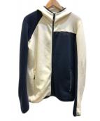 MONTURA(モンチュラ)の古着「フリースパーカー」|アイボリー
