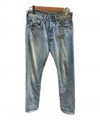 LEVI'S VINTAGE CLOTHING()の古着「ジップカスタマイドテーパードデニム」|インディゴ