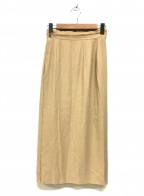 JURGEN LEHL(ヨーガンレール)の古着「ラップスカート」 ベージュ
