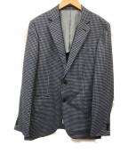 TAKEO KIKUCHI(タケオキクチ)の古着「テーラードジャケット」 ネイビー