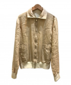LORO PIANA(ロロピアーナ)の古着「リバーシブルリネンジャケット」 ベージュ