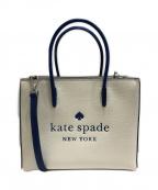 Kate Spade()の古着「2WAYバッグ」|ホワイト