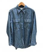 MADISON BLUE(マディソンブルー)の古着「HAMPTON CHAMBRAY SHIRT」 インディゴ