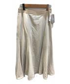 ()の古着「強撚ツイルマーメイドフレアスカート」|アイボリー