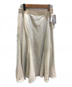 IENA(イエナ)の古着「強撚ツイルマーメイドフレアスカート」|アイボリー