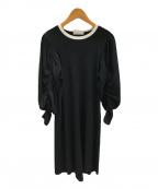 CELFORD(セルフォード)の古着「ニットワンピース」|ブラック