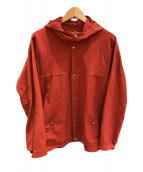 ()の古着「60/40クロスフードシャツ」|オレンジ
